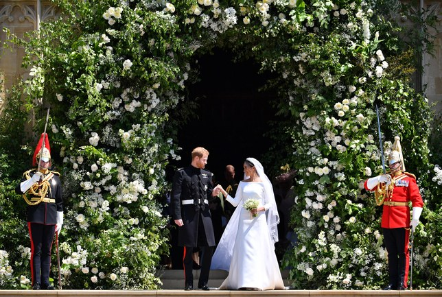 Meghan Markle's flower choices -- from the bouquets to the official bloom -- where nods to the late Princess Diana.