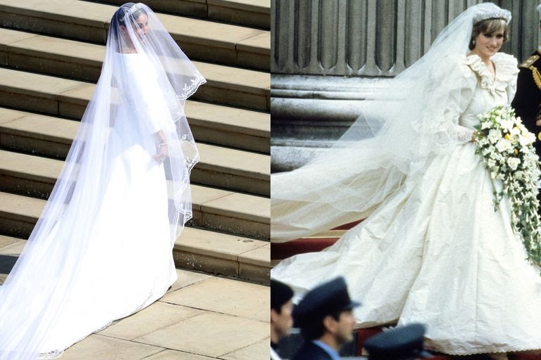 Princess Di and Meghan Markle Dress
