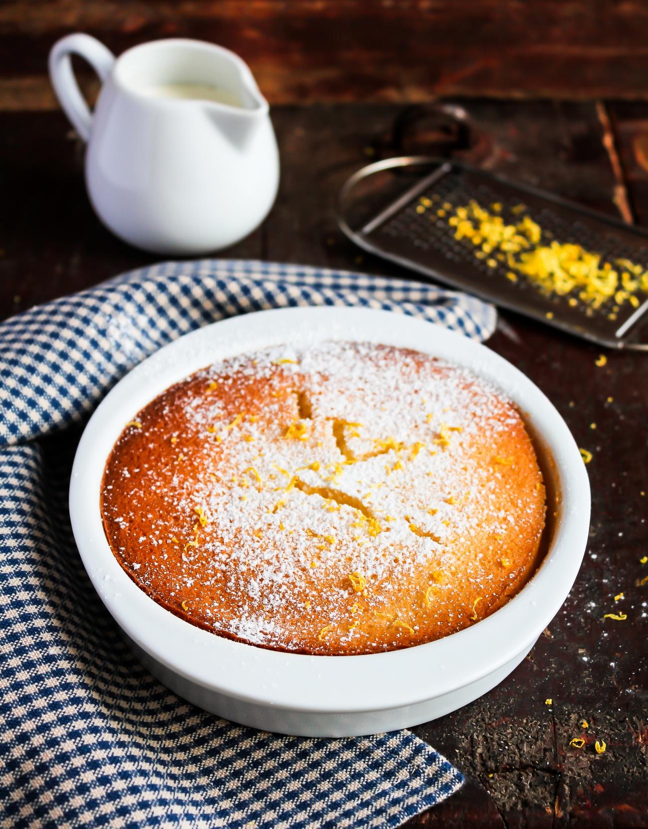 Lemon Pudding Cake 3