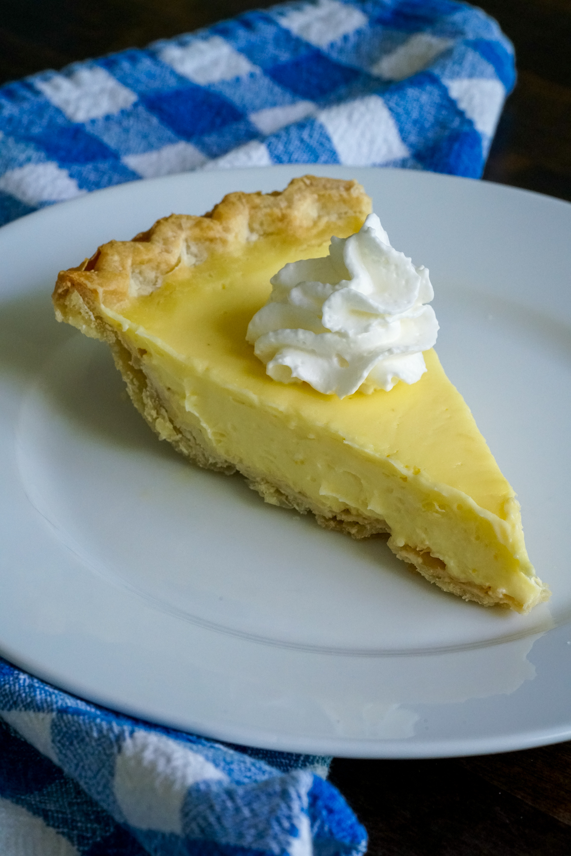 Lemon Sour Cream Pie 1