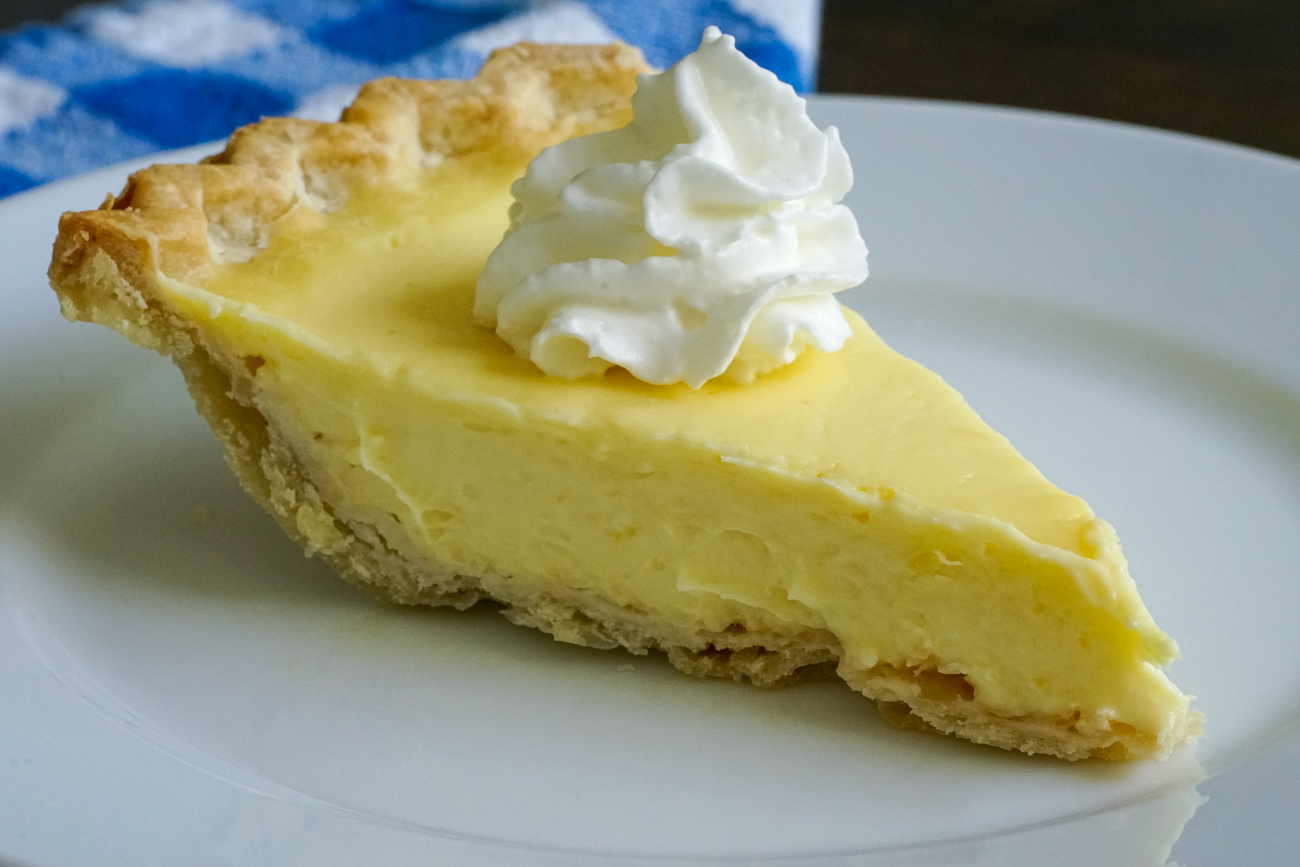 Lemon Sour Cream Pie 3