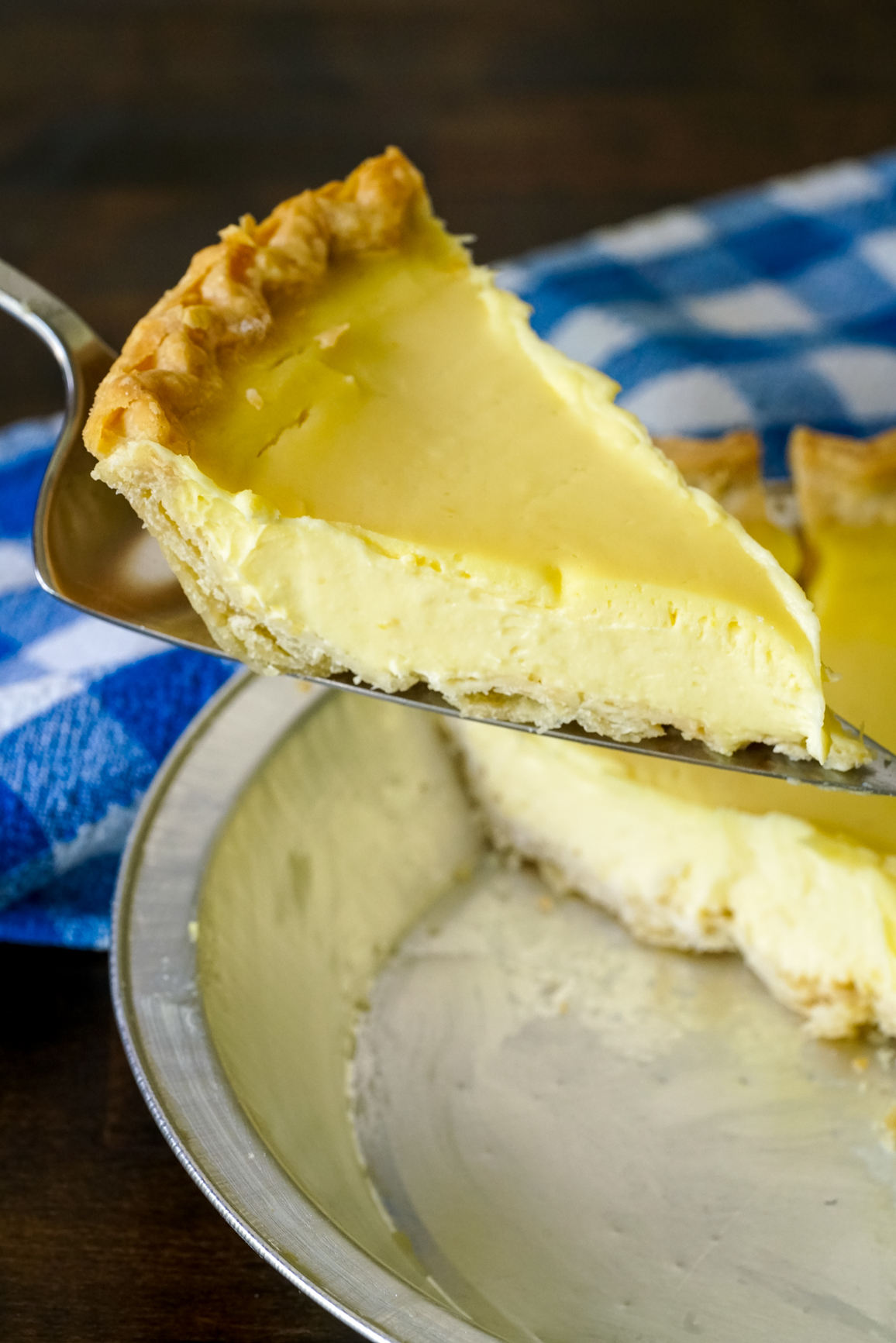 Lemon Sour Cream Pie 5