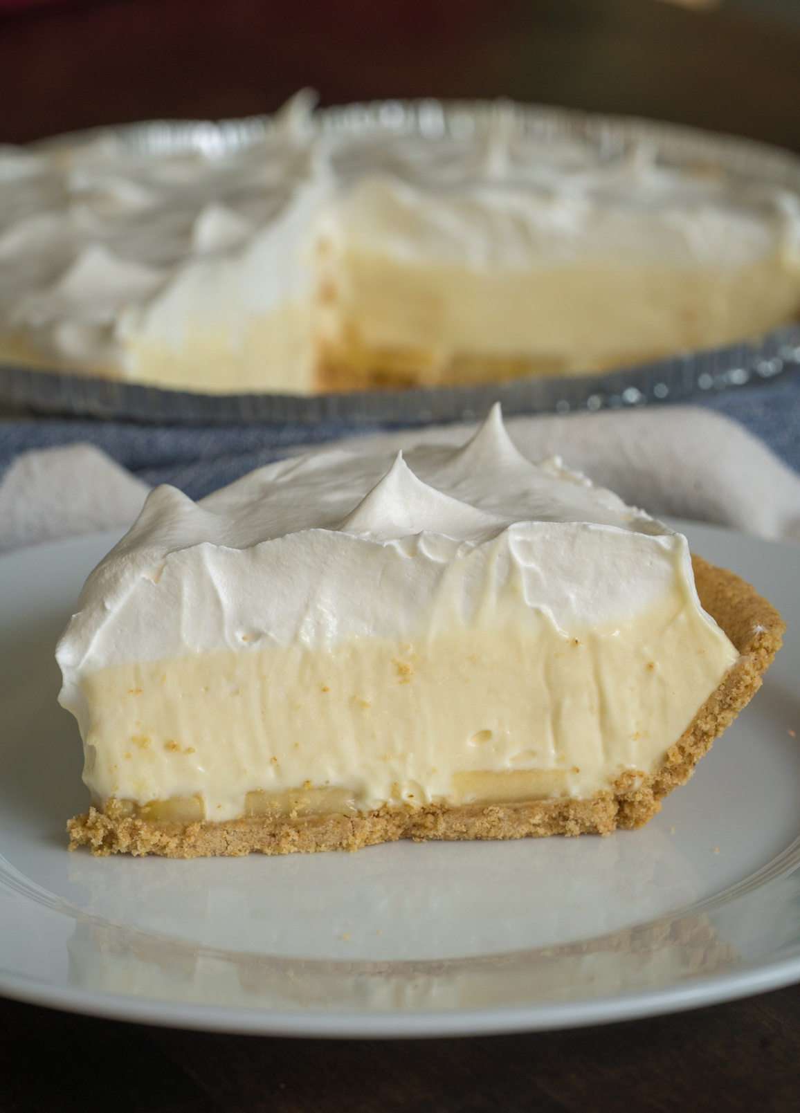 No-Bake Banana Cream Pie Vertical (7 of 10)