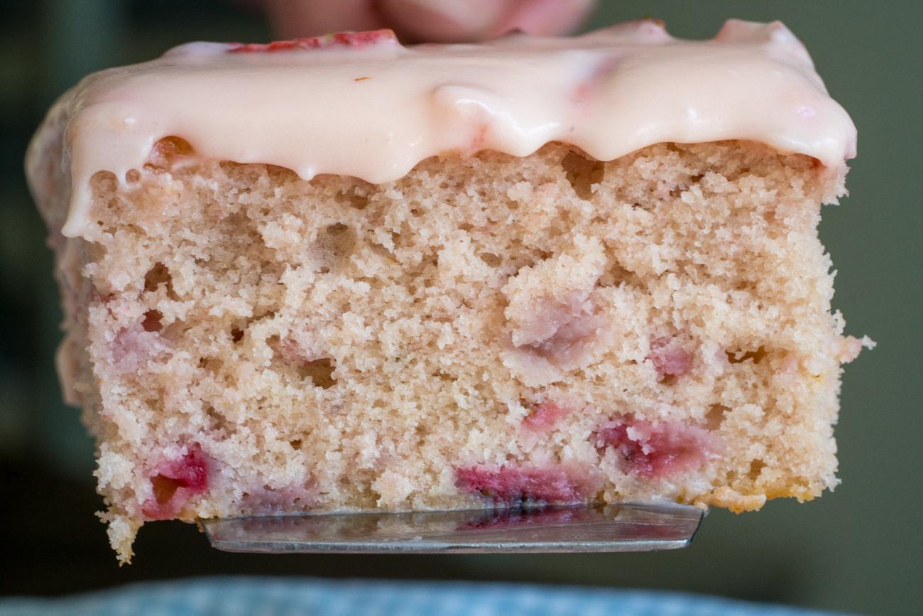 Strawberry Sheet Cake5