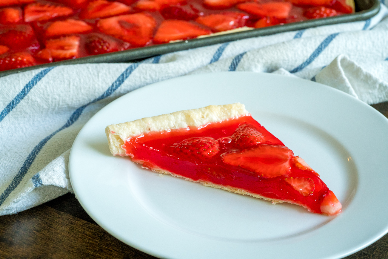 Strawberry Slab Pie 10