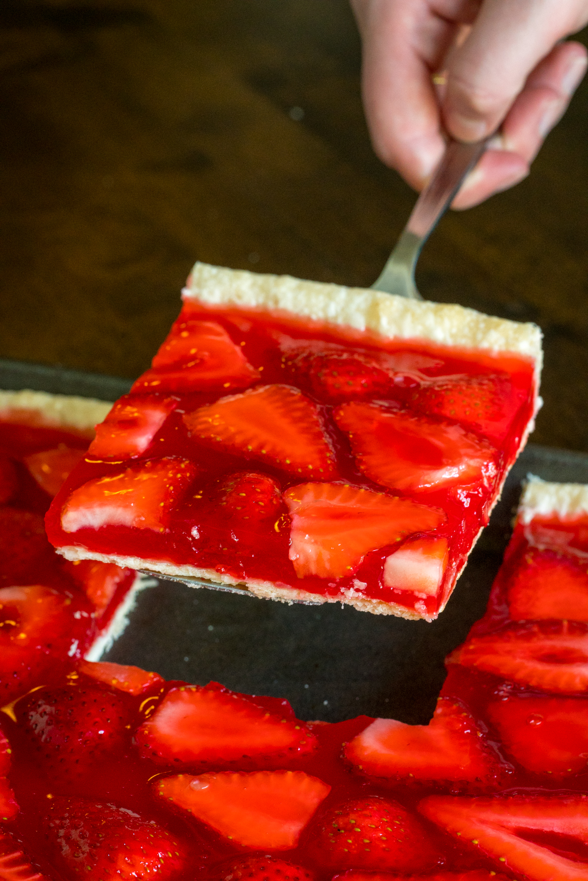 Strawberry Slab Pie 2
