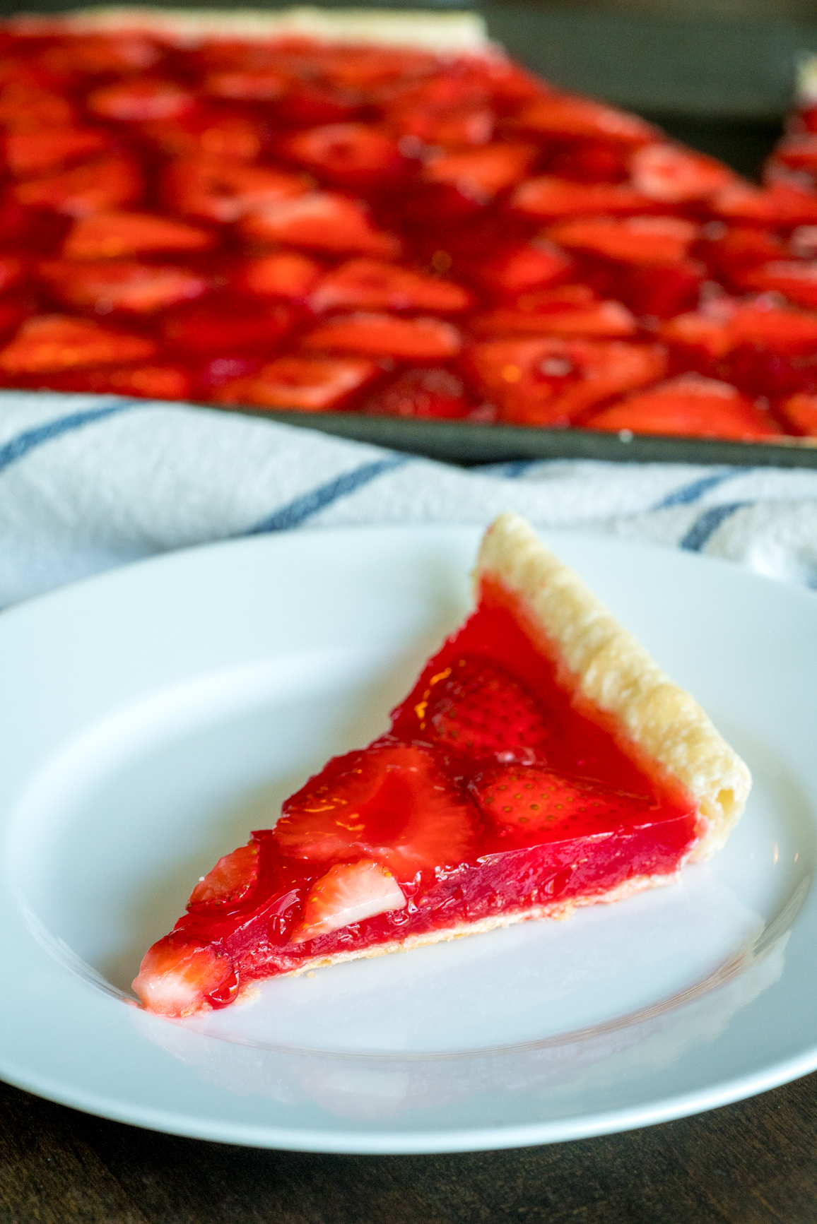Strawberry Slab Pie 8