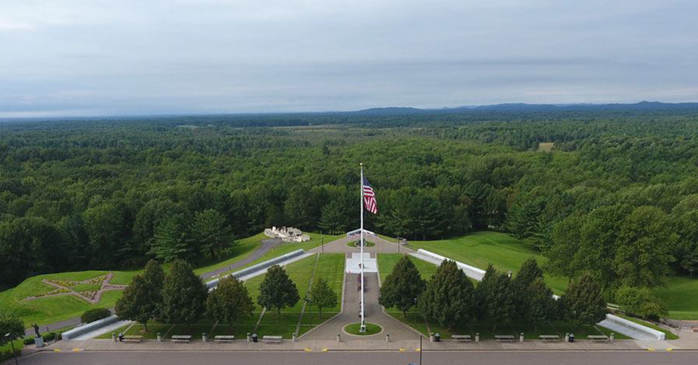 Source: Ken Ebsen The Highground Veterans Memorial in Neillsville, Wisc. is a a 155-acre manned veterans memorial park.