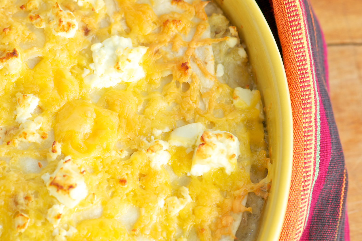 Chicken Tortilla Pie Casserole from Above