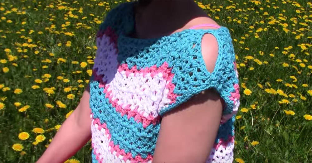 summer crochet top 3