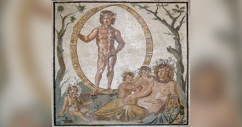 Source: Wikimedia Commons The  Roman god Uranus was once associated with the passage of time, and currently associated with passing gasses.