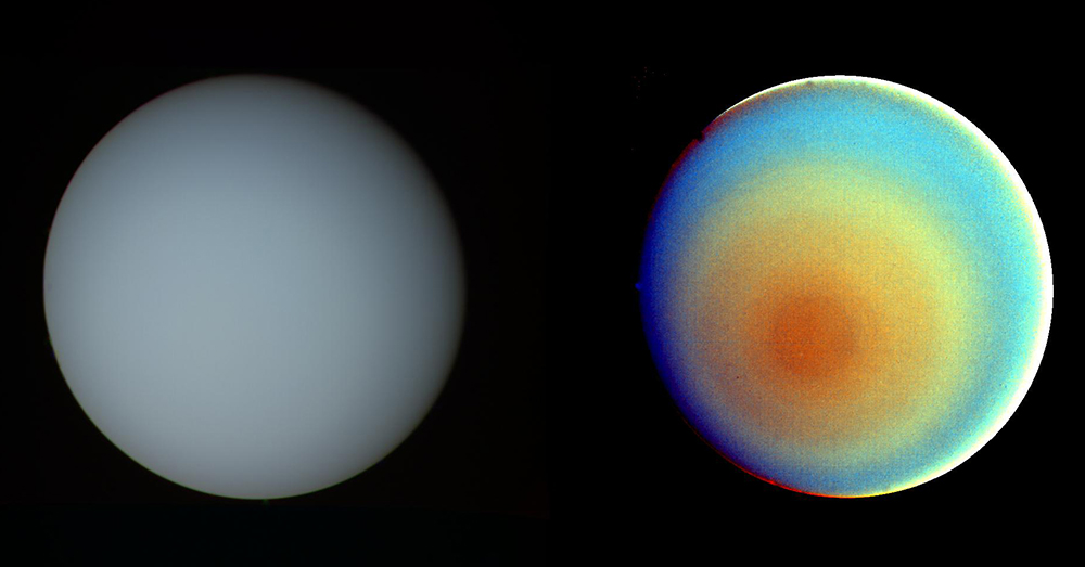 Source: NASA Uranus's atmosphere is filled with Hydrogen Sulfide.