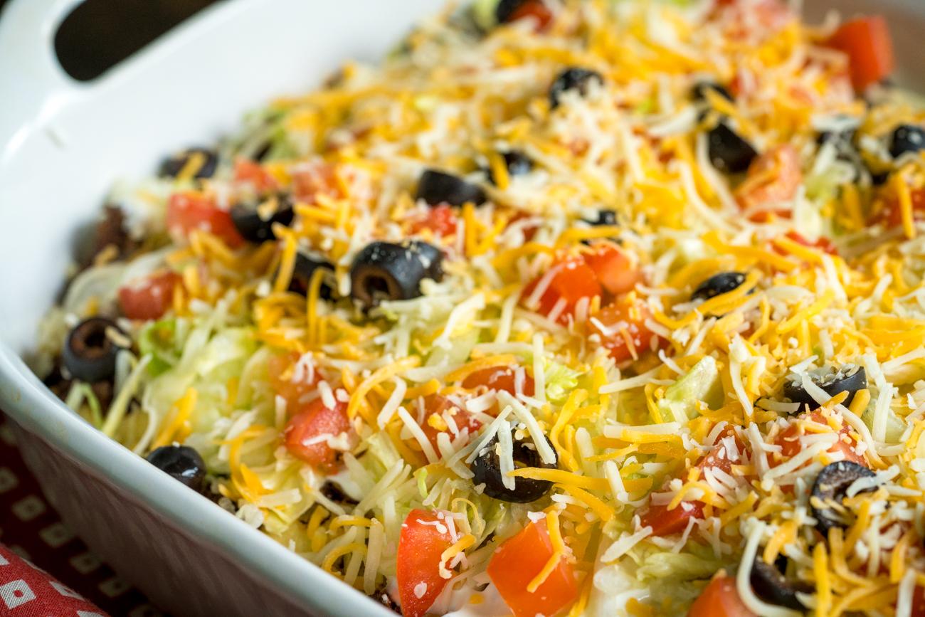 Cheesy Taco Casserole 5
