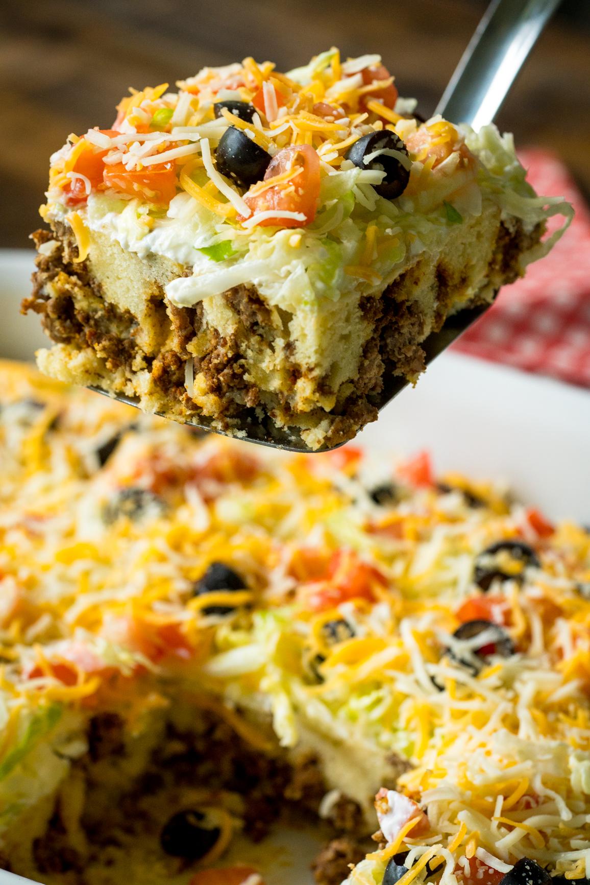 Cheesy Taco Casserole 8