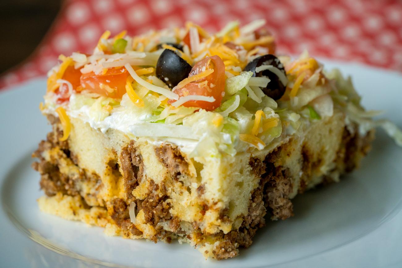 Cheesy Taco Casserole 9