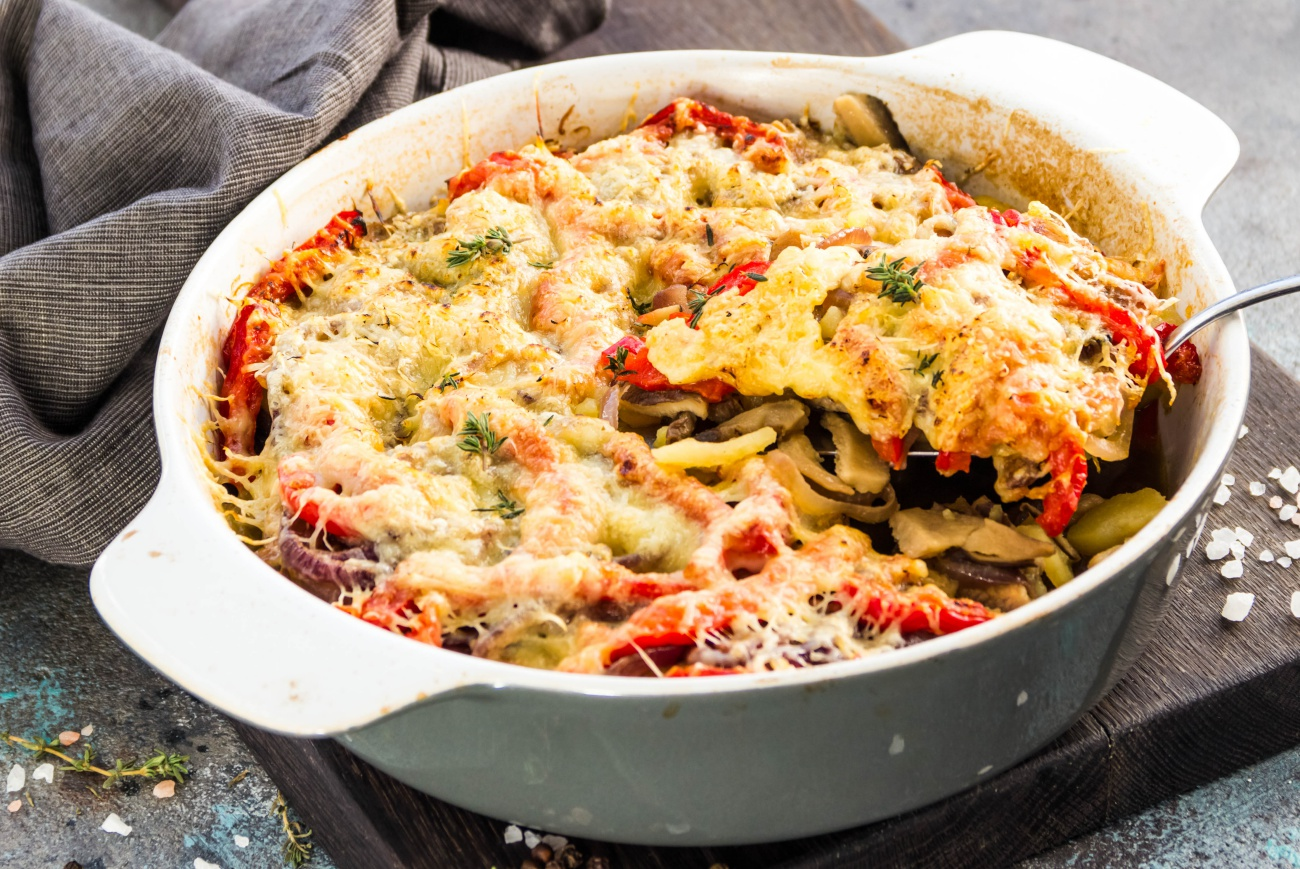 Chicken Bell Pepper Casserole 1