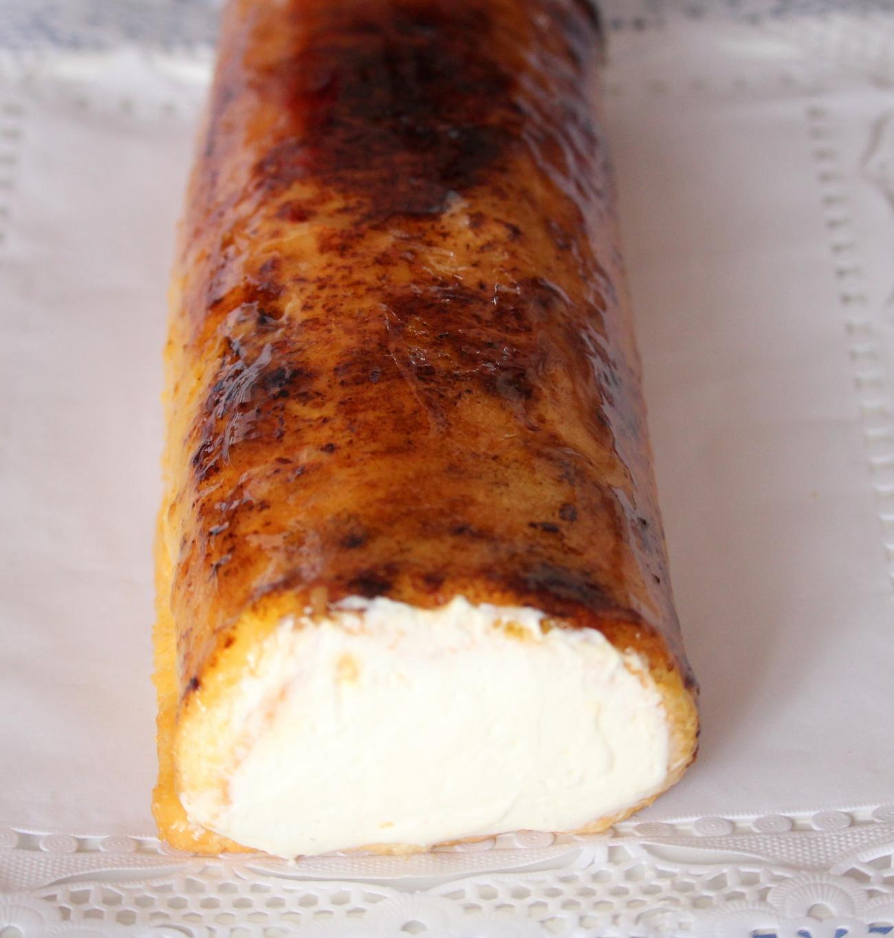 Creme Brulee Cake 1