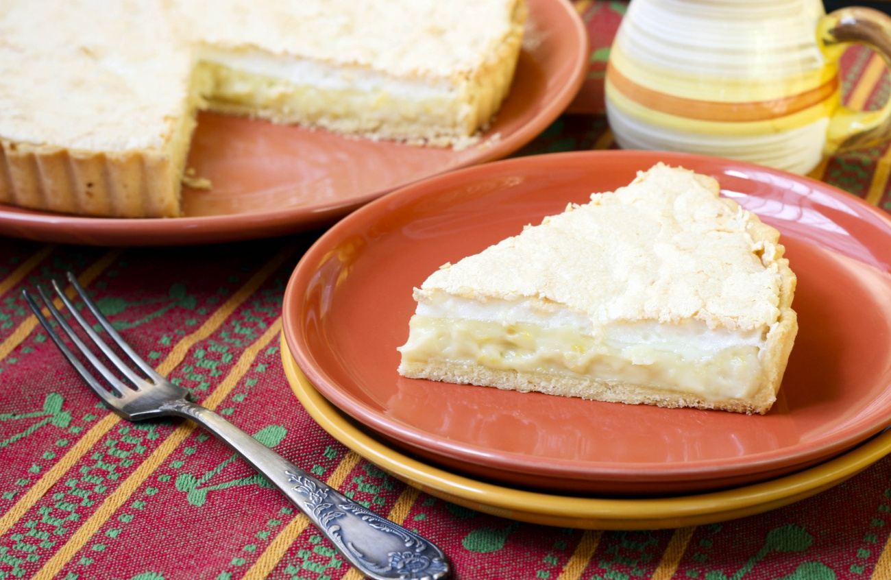 Lemon Coconut Tart 1