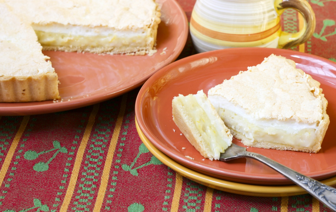 Lemon Coconut tart 2