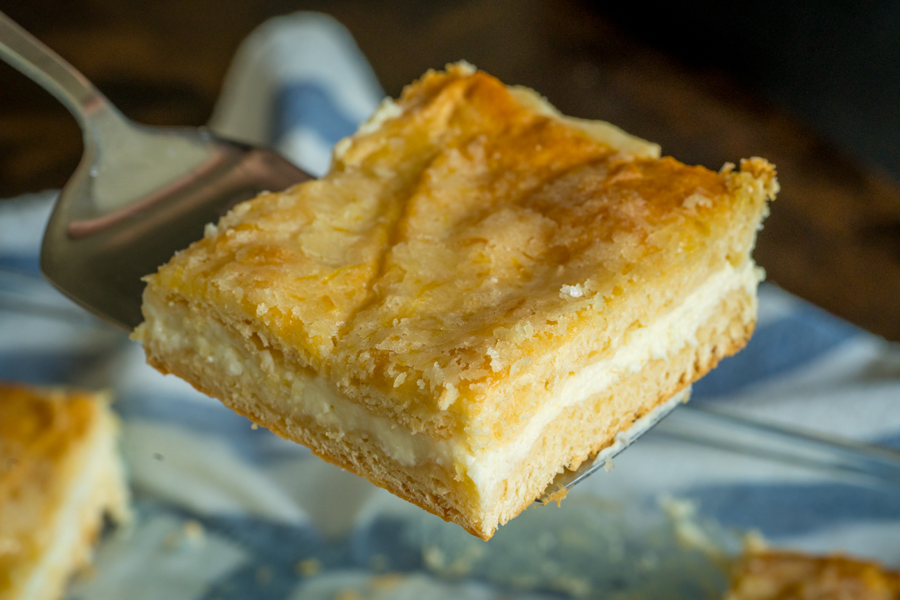 Lemon Cream Cheese Squares 6