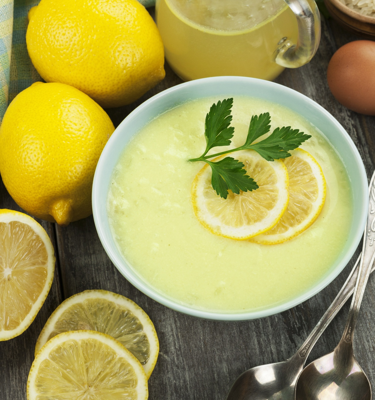 Lemon Egg Soup 1