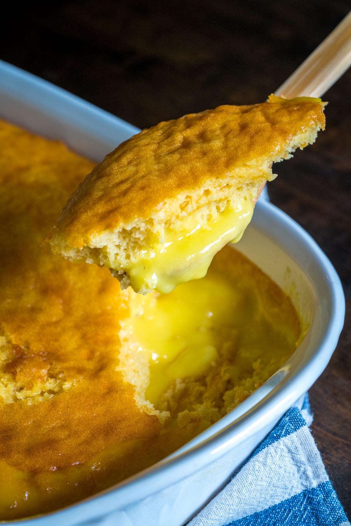 Lemon Lava Cake 10