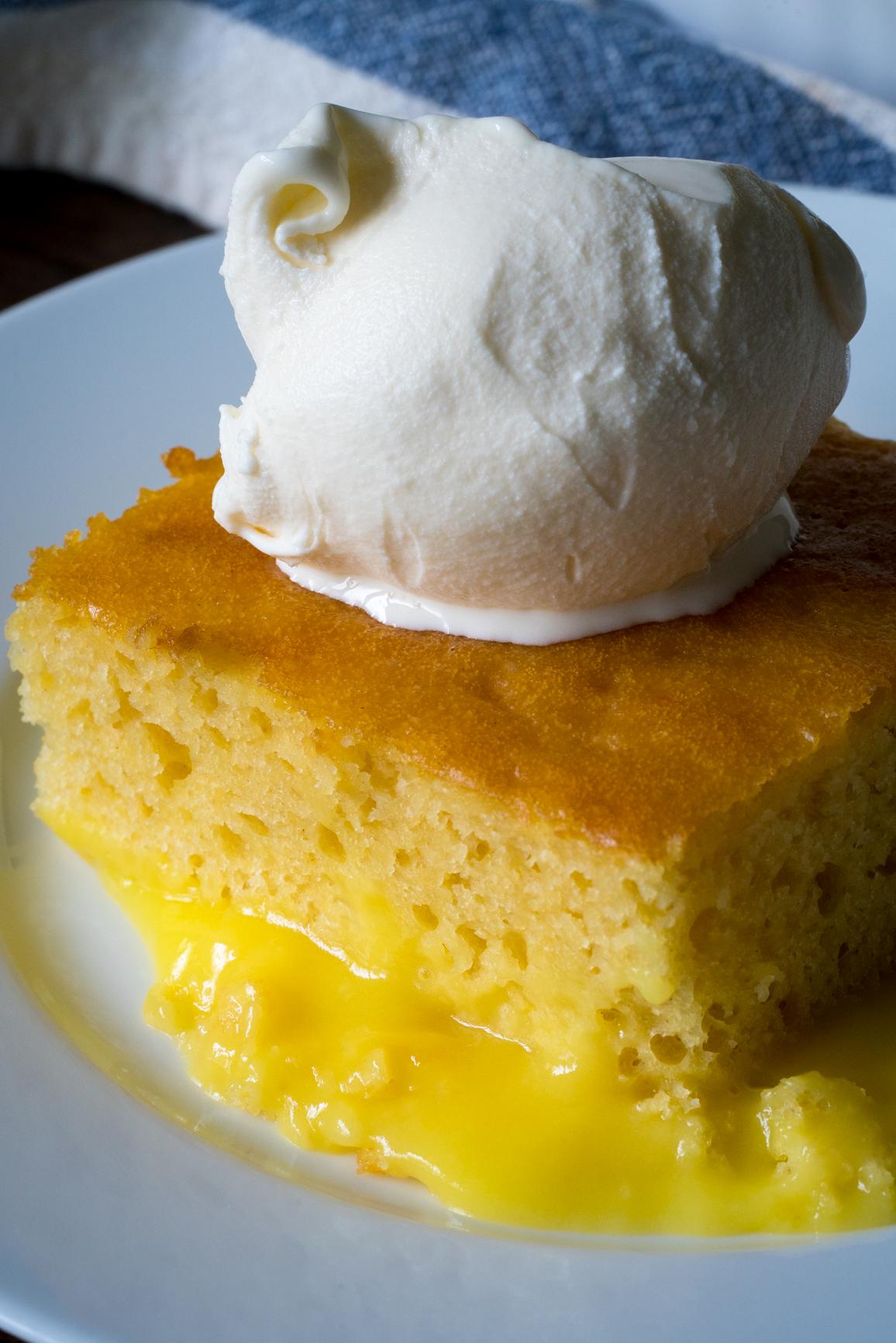 Lemon Lava Cake 4