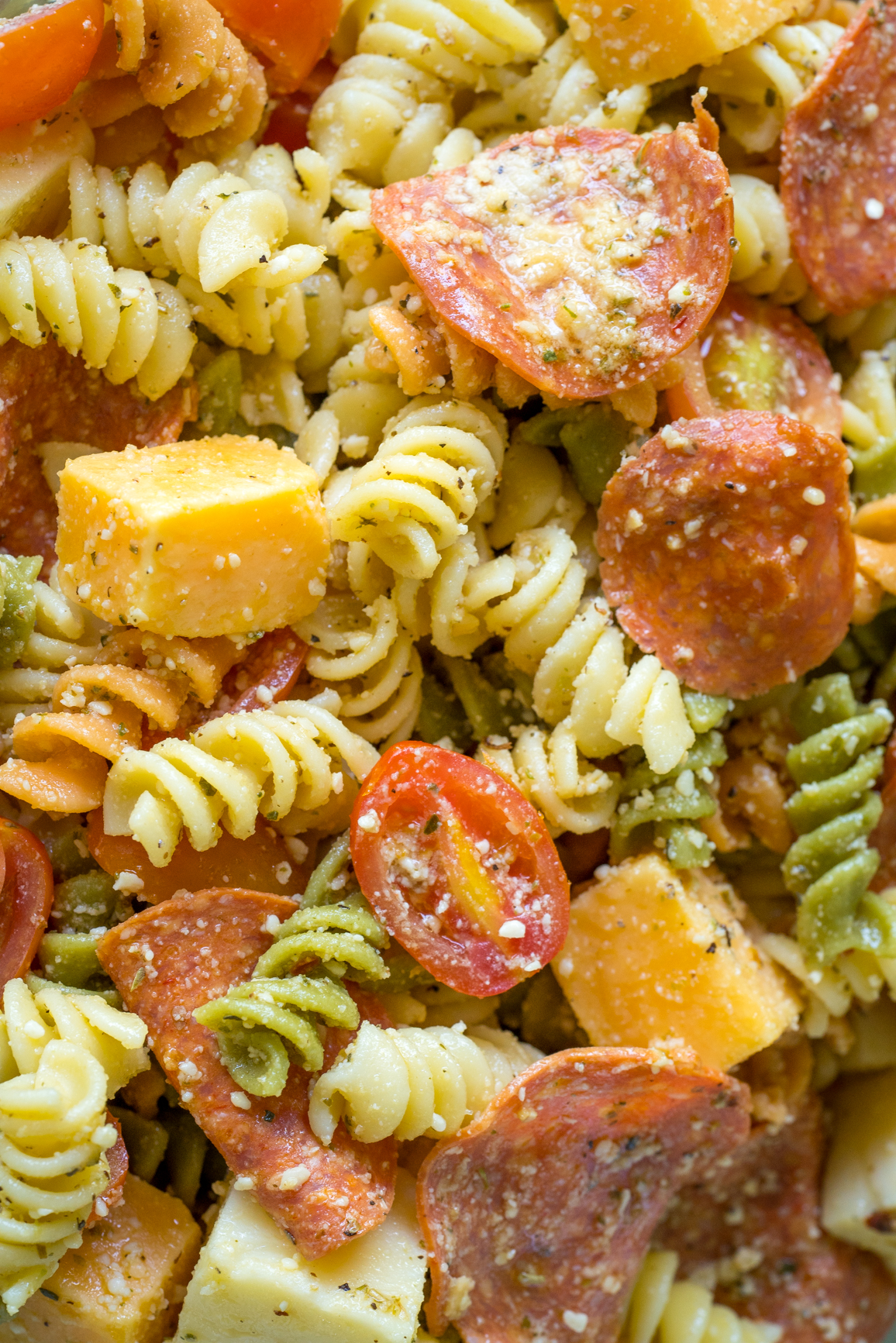 Pepperoni Pizza Pasta Salad 3