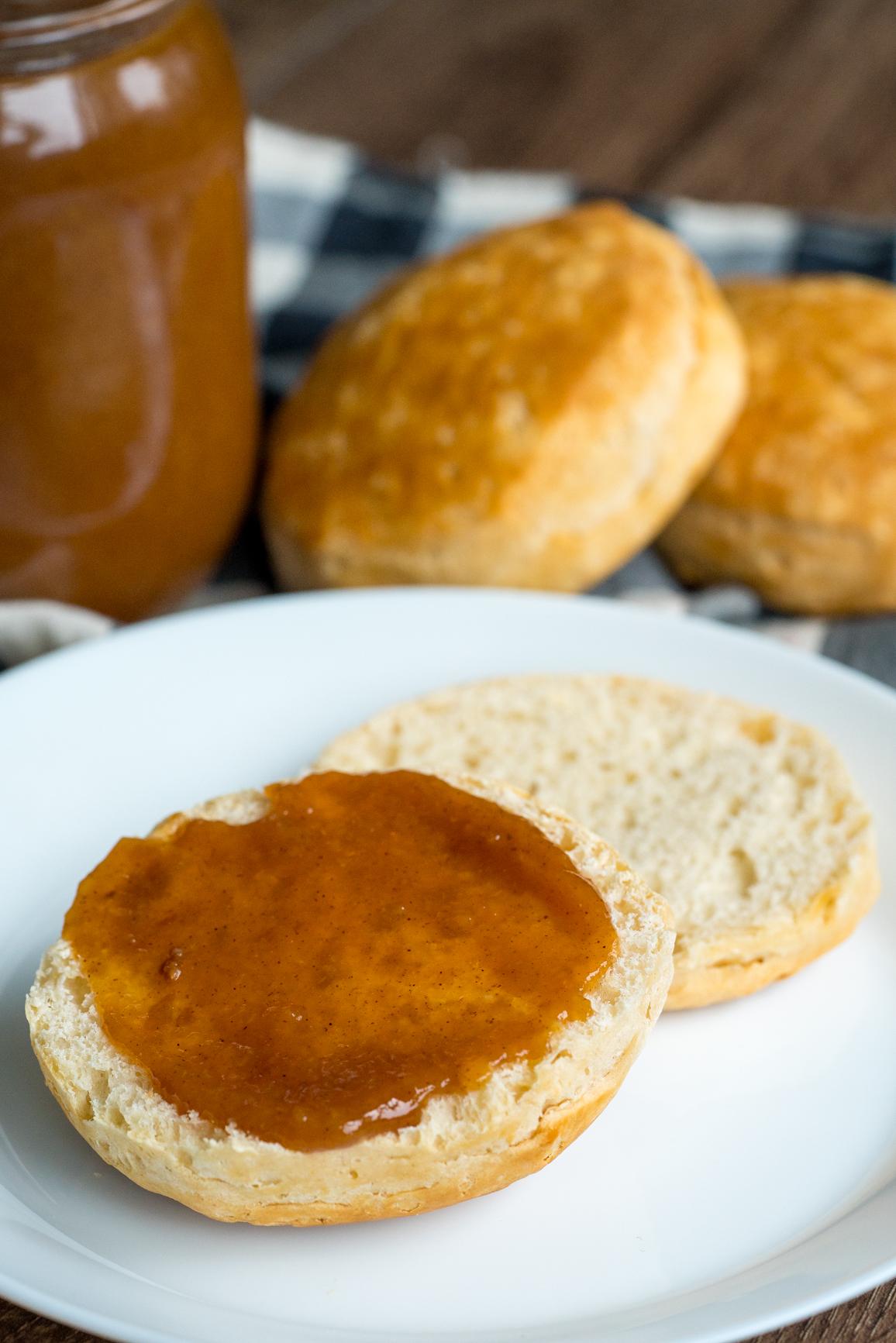 Slow Cooker Peach Butter 10