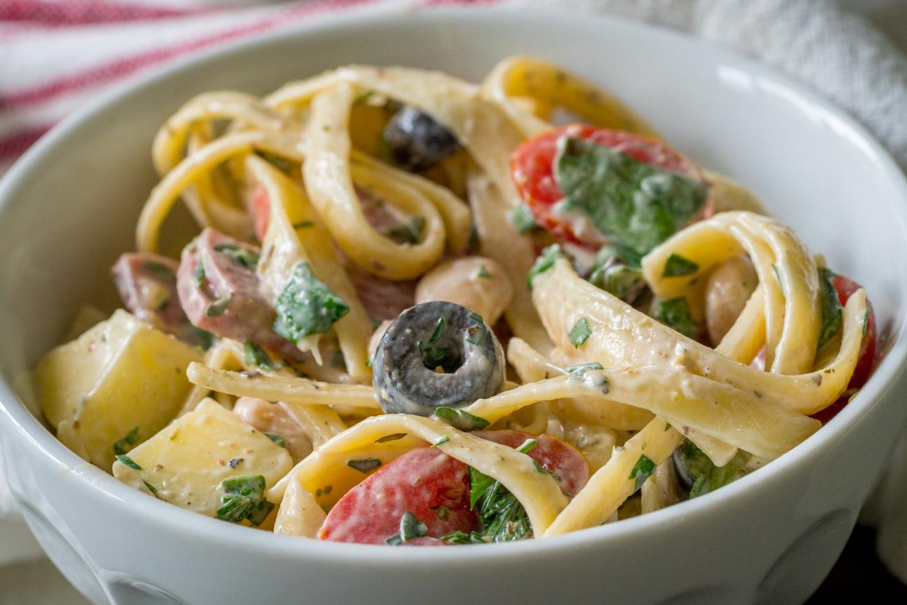 Tuscan Pasta Salad 10