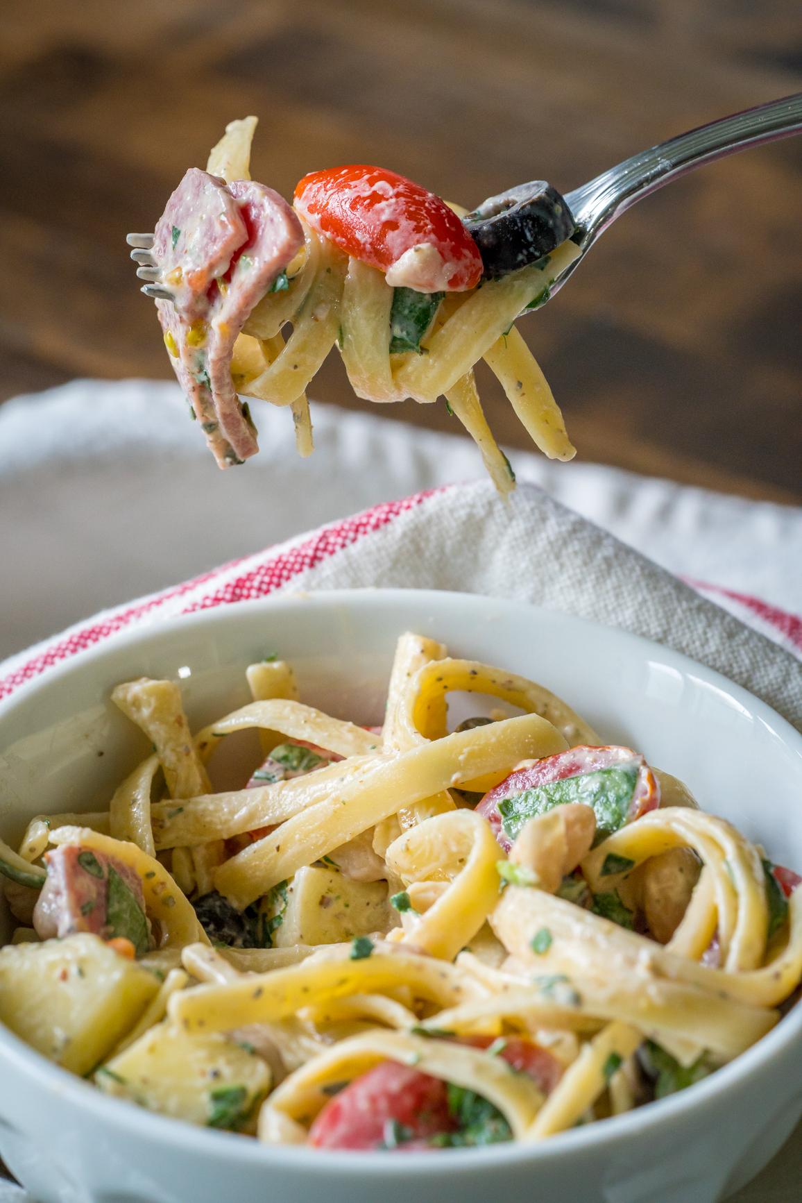 Tuscan Pasta Salad 16