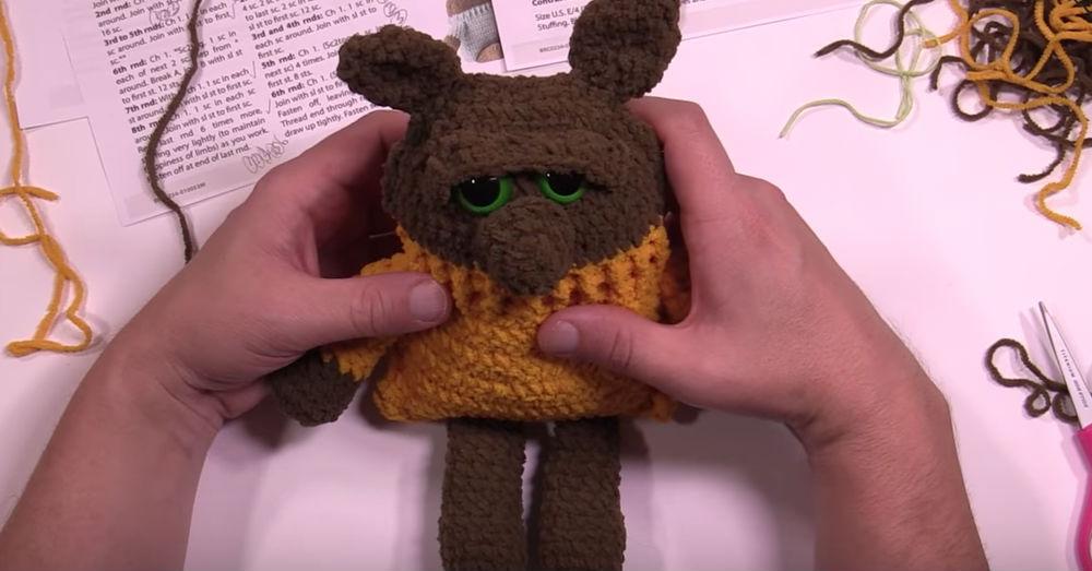 crochet bear 3