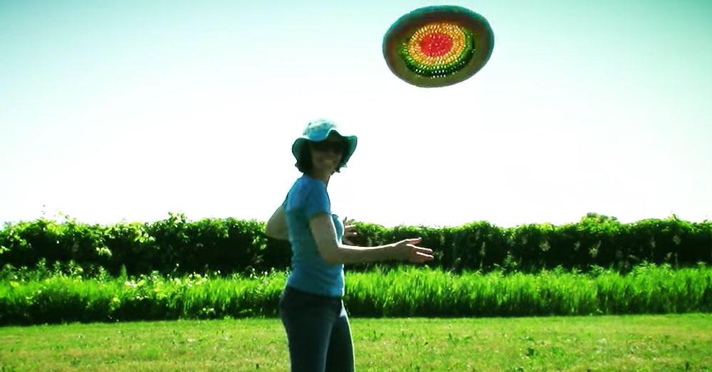 crochet frisbee 1