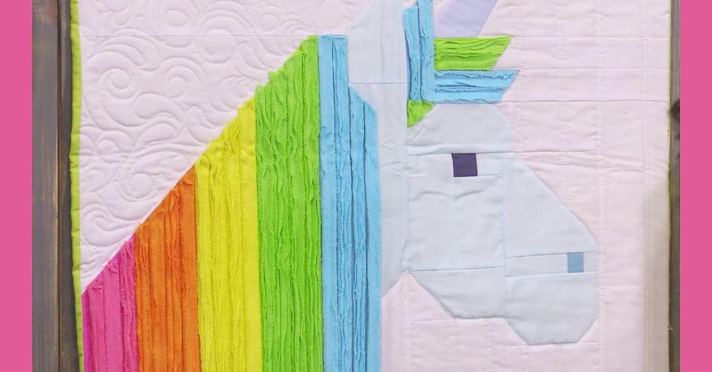 unicorn quilt 3