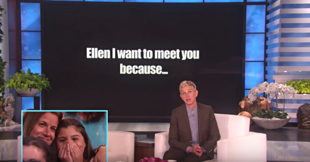 Photo: YouTube/TheEllenShow