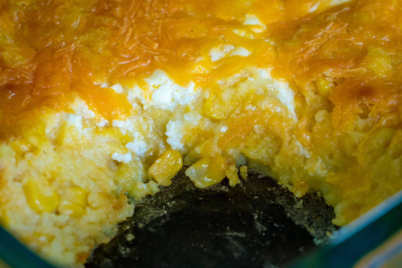 Cheesy Jiffy Corn Casserole 7