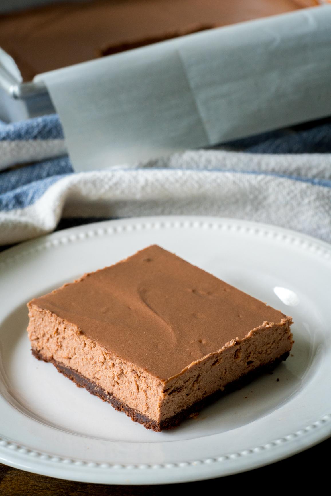 Chocolate Cheesecake Bars 3