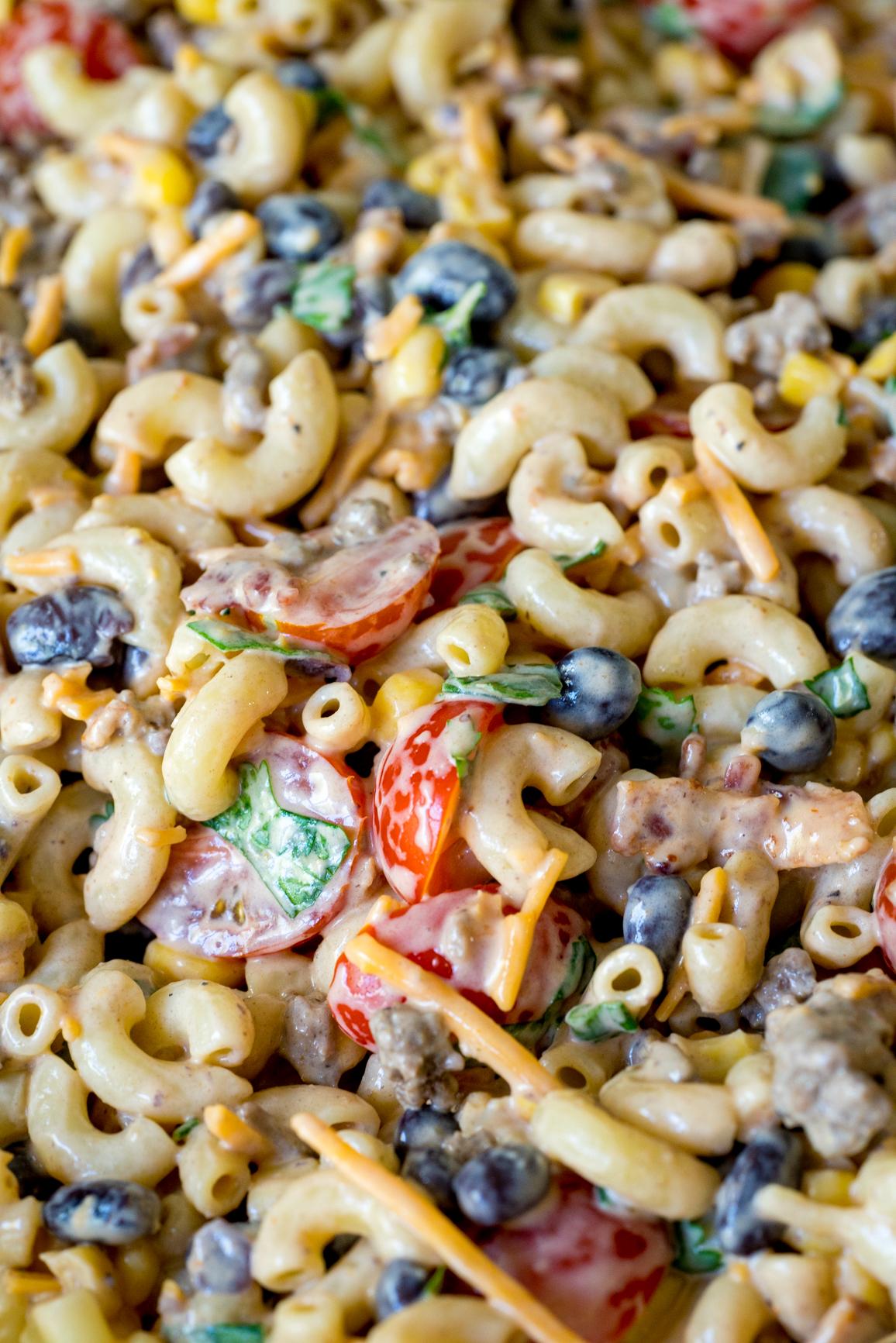 Cowboy Pasta Salad 8
