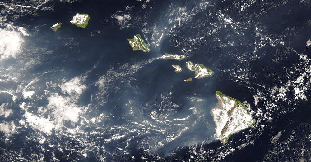 Source: NASA A satellite view of Kilauea.