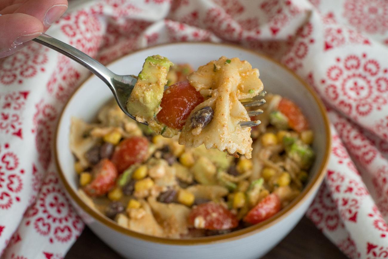 Tex Mex Pasta Salad Horizontal (10 of 10)