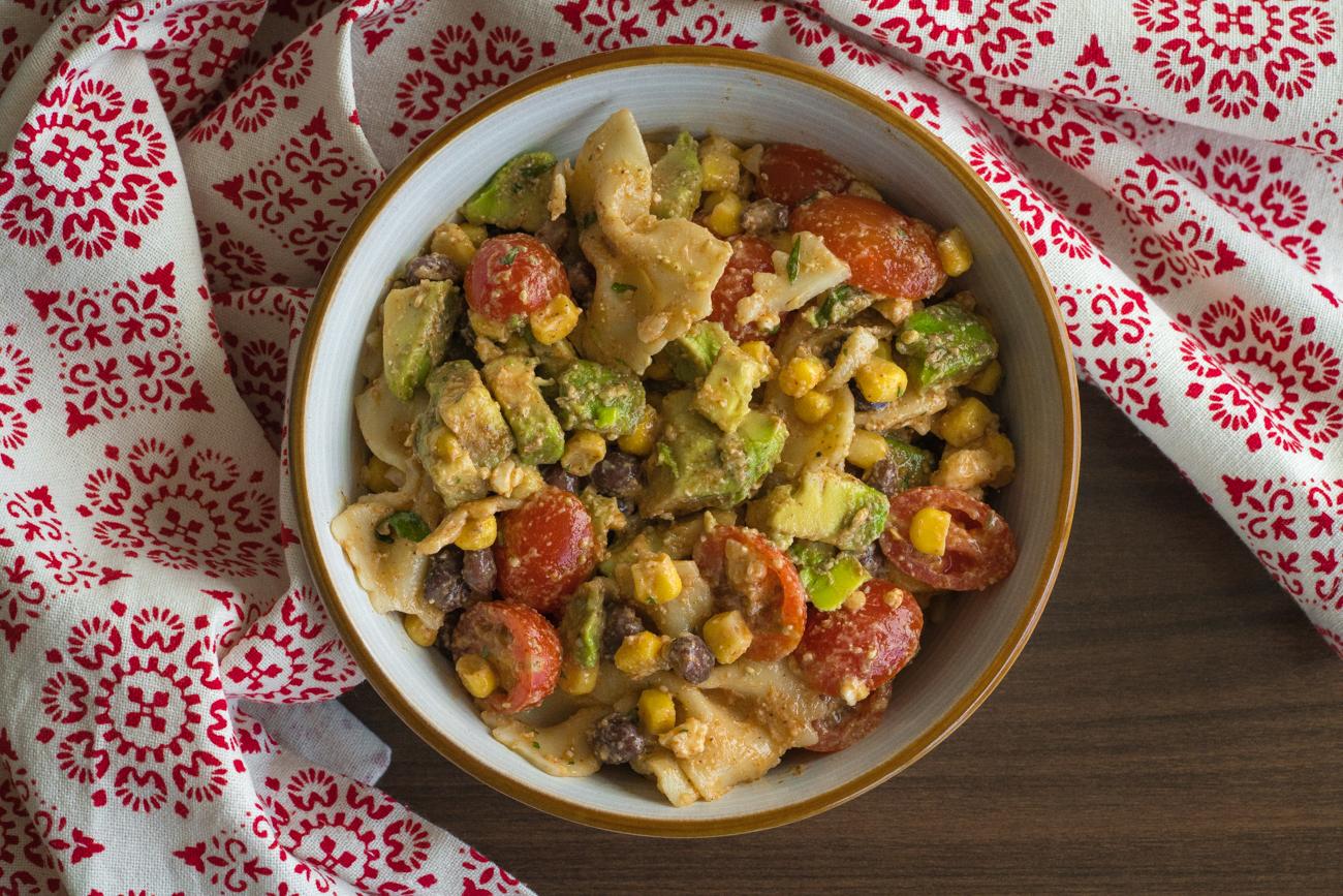 Tex Mex Pasta Salad Horizontal (2 of 10)