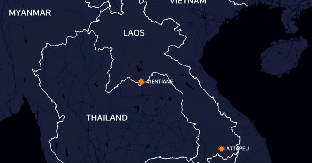Source: YouTube/Straits Times Laos is known as the