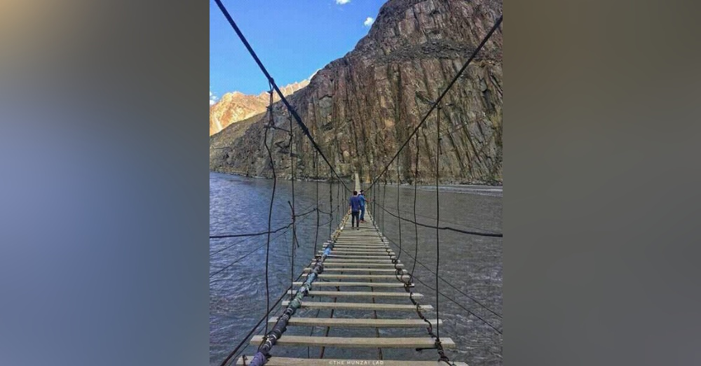 Photo: Facebook/Hussaini Hanging Bridge