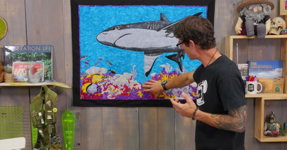 shark quilt 3