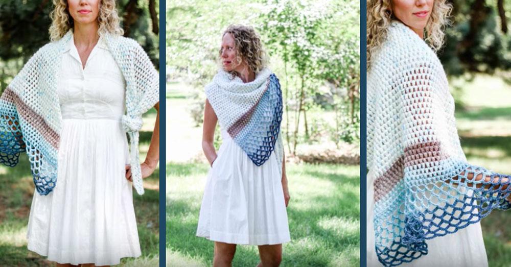 wave shawl 1