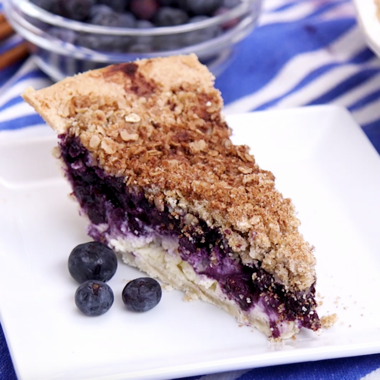 Blueberry Cheesecake Pie 1