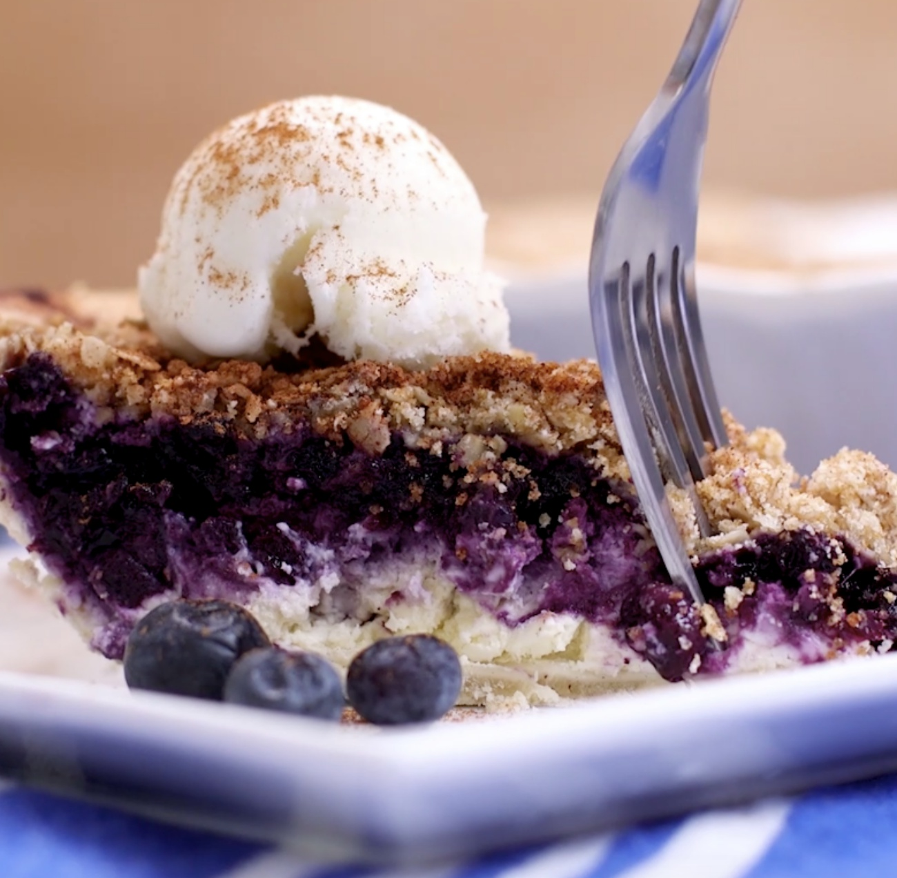 Blueberry Cheesecake Pie 2