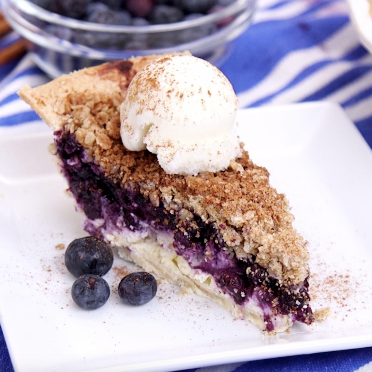 Blueberry Cheesecake Pie 3