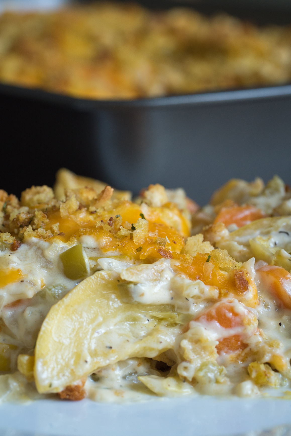Cheesy Squash Casserole Vertical (3 of 4)