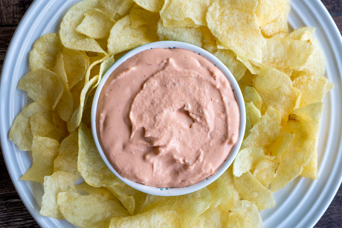 Chip-Stuffed Potato Chip Dip 2
